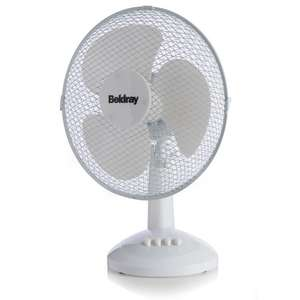 "Beldray Desk Fan 12"" only £4.50 @ Wilko Online"