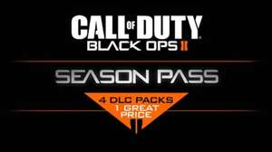 Black ops 2 season pass PC £13.99 @ Steam
