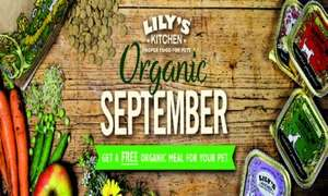 Free Lily's Kitchen Organic Pet Food for your Cat or Dog (10,000 samples)