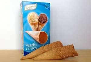 Ice Cream / Waffle Cones - Reduced to £0.49 @ ALDI