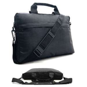 """Slim 15.6"""" inch Laptop Bag Carry Case MacBook Notebook Dell HP Sony Acer Asus Samsung (Will Also Fit 11"""" 12"""" 13"""" 14"""" 16"""") £4.95+ FREE DELIVERY@ amazon sold by iZilla"""