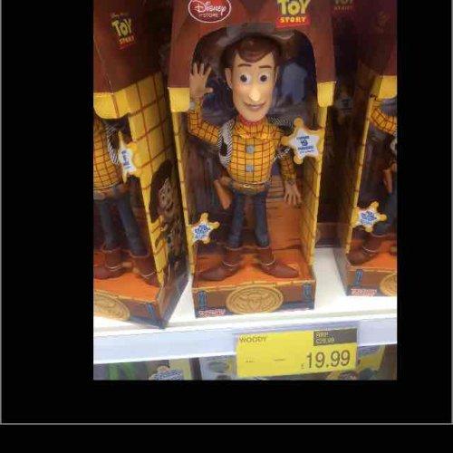 woody talking doll £19.99 @ B&M