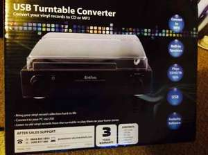 USB turntable converter / record player  in  Aldi £19.99