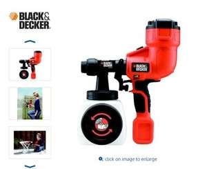 Black & Decker Paint Sprayer £19.99 @ B&M