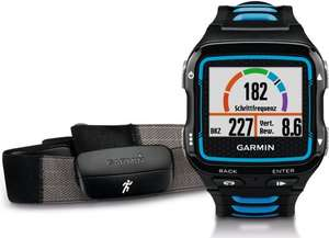 Garmin Forerunner 920XT GPS Multisport Watch with Running Dynamics, Connected Features and Heart Rate Monitor - Black/Blue £256.78 @ Amazon