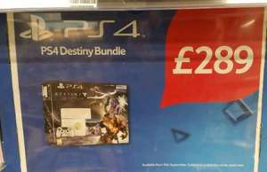 Destiny The Taken King Limited Edition PS4 Bundle £289 Instore @ Tesco