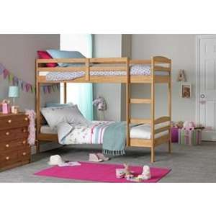 Josie Shorty Bunk Bed Frame - Natural. £129.99 @ Argos