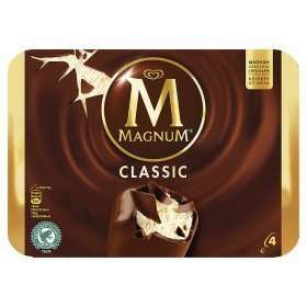 Magnum Ice cream 4x110ml £1.50 @ Farmfoods