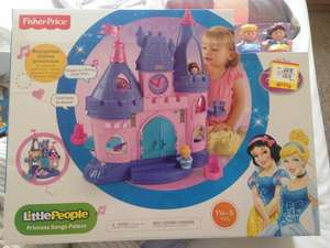 Little people princess castle £31.99 smyths