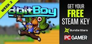 Free 8bitBoy steam key @ pcgamer in association with bundlestars