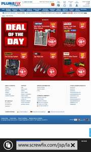 Screwfix deals of the day all week