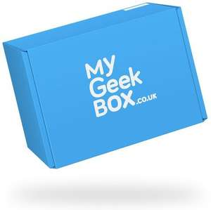 My Geek Box Subscription Box now with FREE welcome box £17.99