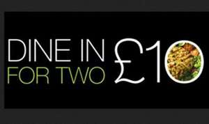 M&S DIne in for Two £10 Main Side Dessert and wine from 23rd