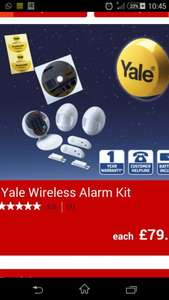 Yale wireless alarm kit - £79.99 @ ALDI  from 24th
