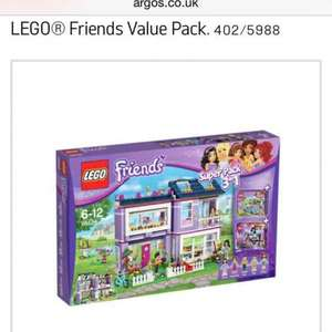 Argos Lego friends value pack £64.99