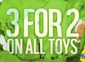 Argos 3 for 2 on Toys is back - Confirmed From 23rd