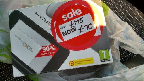 Nintendo 3DS XL £70 @ Asda instore
