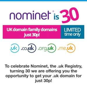 .uk domain extensions for £0.30 names.co.uk