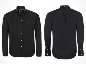 Polo Ralph Lauren slim-fit shirt - black/white/blue/red/pink/grey - £29.99 + £3.99 delivery = £33.98 @ livingsocial