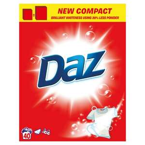 40 Wash Box DAZ Washing Powder Only £3.99 @ Savers