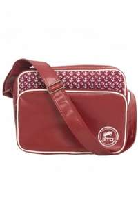 ETO Designer Burgundy Shoulder Bag With Anchor Pattern Design £16.99 @ Etojeans