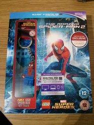 Amazing Spiderman 2 Blu-ray with Lego Keyring £5.00 @ Sainsburys