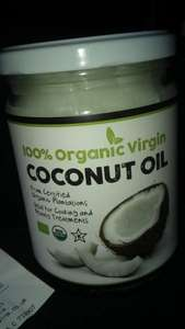 500ml organic virgin coconut oil £3.99 @ Home Bargains
