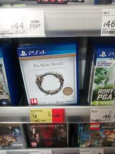 Elder Scrolls Online PS4 and XBox £18 @ Asda instore