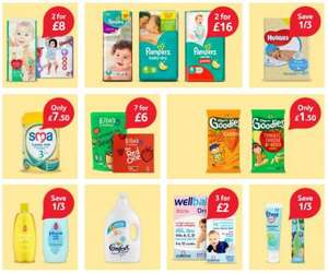 Tesco Baby & Toddler Event - Tesco (Offers in description)