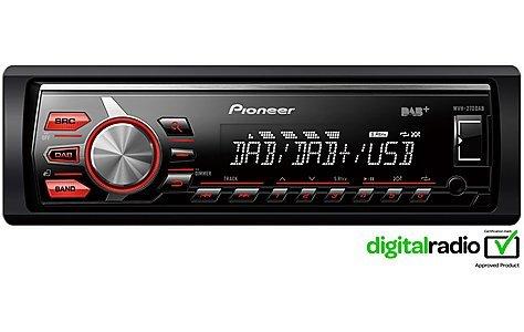 Pioneer MVH-270DAB Car Radio - £65 @ Halfords