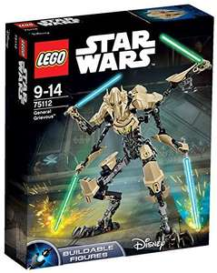 Lego Star Wars General Grievous £21.89 delivered at Amazon