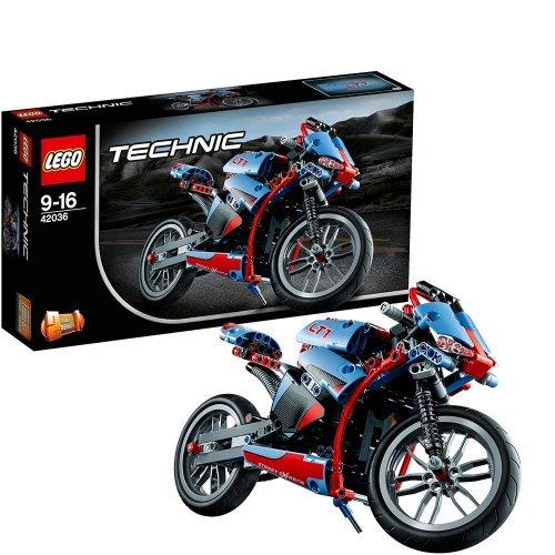 Lego Technic 42036 Street Motorcycle £19.70 (Prime) £24.45 (Non Prime) @ Amazon