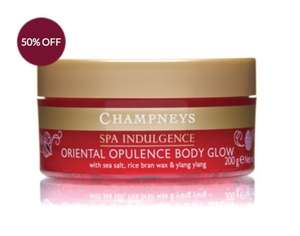 Champneys Spa Products Up to 75% off - 50% sale plus additional (possible glitch) 50% discount