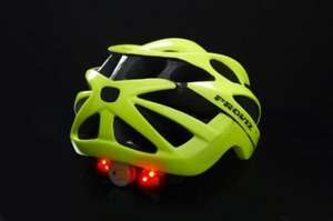 Proviz High visibility Cycling Helmet with built in LED lights - half price from £54.99 down to £27.49 but 15% code still working