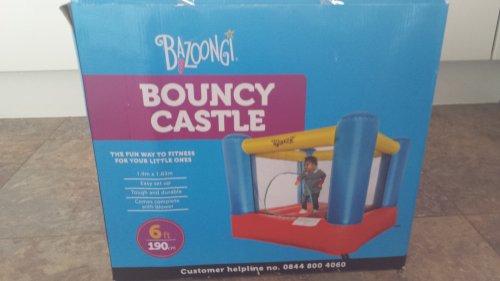 Bazoongi Bouncy Castle £35 at Asda, Dunstable,