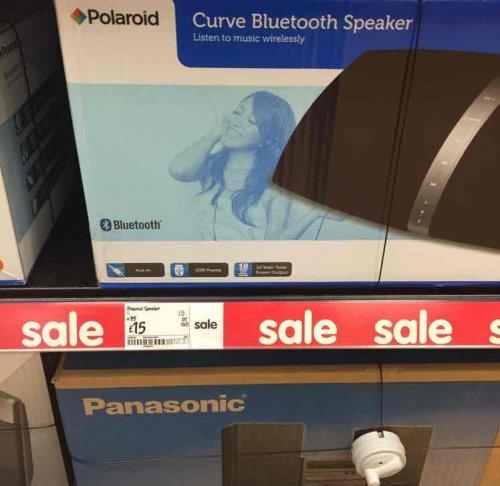 Polaroid Bluetooth Speakers £15 @ Asda instore (Beckton)
