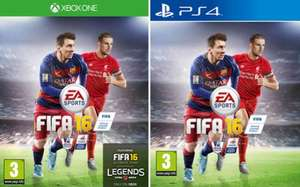 FIFA 16 Standard Edition - £39.99 Xbox One / PS4 @ Game with promo code 5OFFGAME