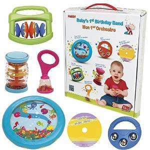 Halilit Baby's First Birthday Band Musical Instrument Gift Set £11.67 (prime) £16.42 (non prime) @ Amazon