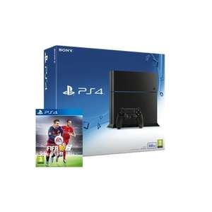 Sony PlayStation 4 Console 500 GB ( New Quieter Model ) + FIFA 16 Physical  + FREE 3 Month NOW TV Pass £279.99 @ eBay ShopTo Potentially £251.99 With PayPal Electronics Discount Code!