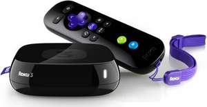 Roku 3 4200EUA Media Streamer £59.99 inc UK P+P @ Amazon
