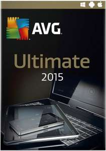 AVG Ultimate 2015 - Protect & tune up all your devices - 2 Year. £26.99 @ Amazon.co.uk