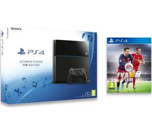 SONY PlayStation 4 with FIFA 16 £299.99 @ Currys