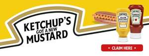 Free Heinz Mustard Sample
