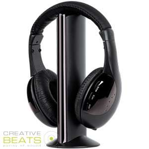 Creative Beats: Purity of Sound Wireless Headphones £5.99 @ Home Bargains