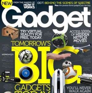 Try Gadget - new Gadget mag launching October (3 issues for £1)