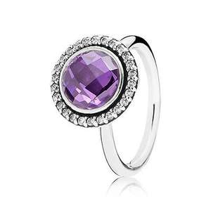 Pandora statement ring in purple £45 + £2.49 del @ John Greed Jewellery