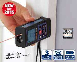 Aldi | 40m Laser Distance Measure | £29.99