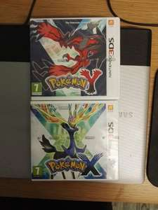 Pokemon X and Y 3ds for £17 each at Asda instore