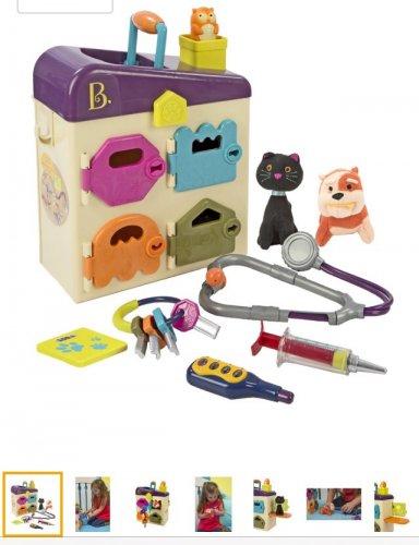 B Toys Pet Vet Clinic £15.00 (prime) £19.75 (non prime) @ Amazon