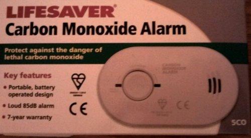 Carbon monoxide alarm £4 at Asda instore